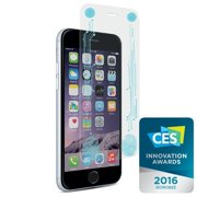 puregear 11742vrp apple iphone 6 plus/6s plus smart + buttons glass screen protector