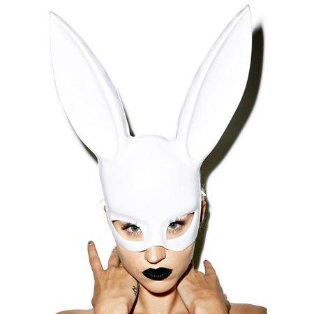 Masquerade Masks Jacksonville Fl (Kayso AZ006WH White Bunny)