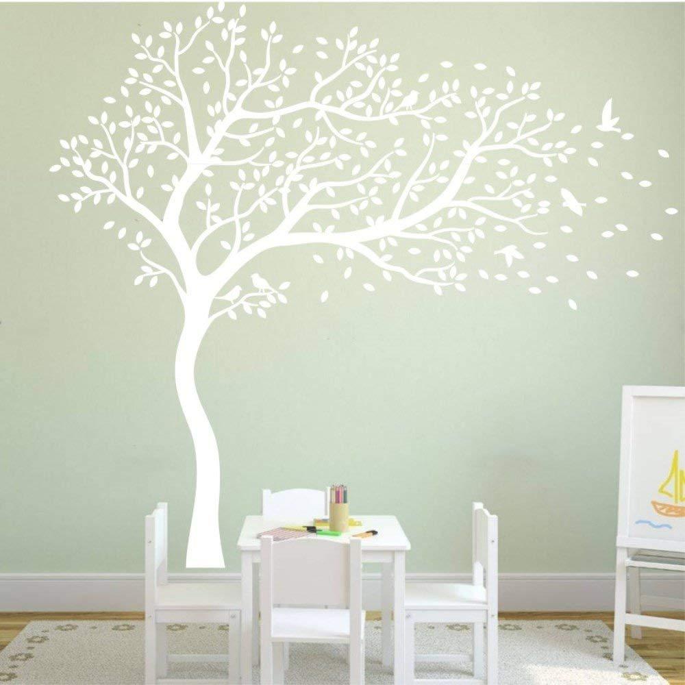 Tayyakoushi White Plum Blossom Tree Wall Sticker Vinyl