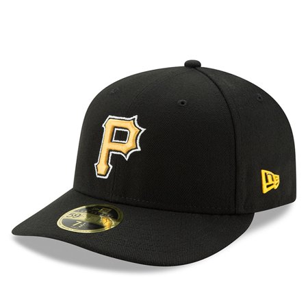Pittsburgh Pirates New Era Alternate Authentic Collection On-Field Low Profile 59FIFTY Fitted Hat - Black