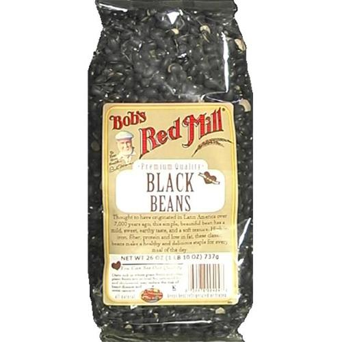 Bobs Red Mill Bean Turtle Black 26 OZ (Pack of 4)