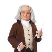 Child Benjamin Franklin Wig by California Costumes 70751