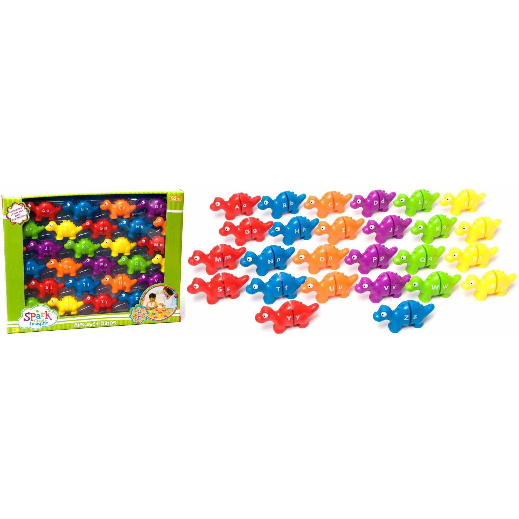 52-Piece Alphabet Dinosaurs Set