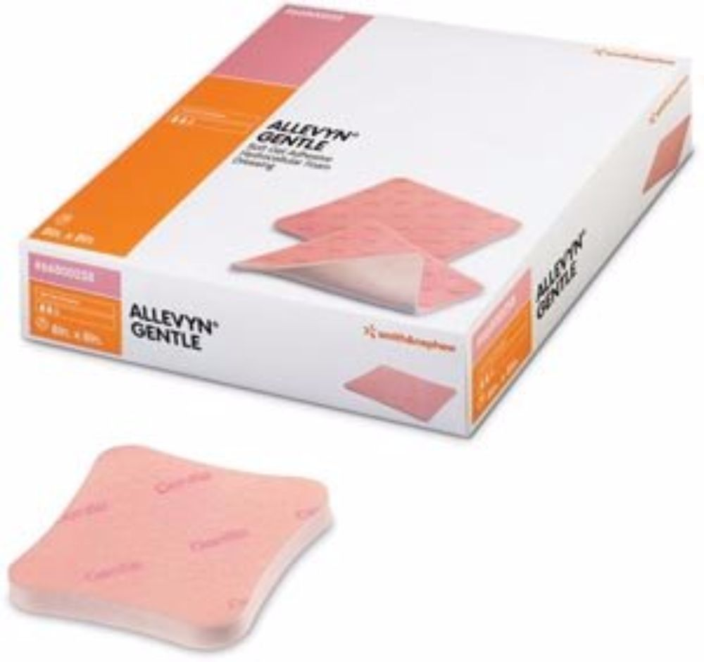 "SMITH & NEPHEW Foam Dressing Allevyn 6 X 6"" Non-Adhesive ..."