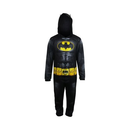 Batman Uniform (DC Comics Batman Dark Knight Uniform Men's Union Suit,)