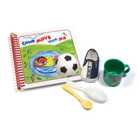 North Country Kids CLWM-204 Come Move with Me Book & Toy (North County Kids)