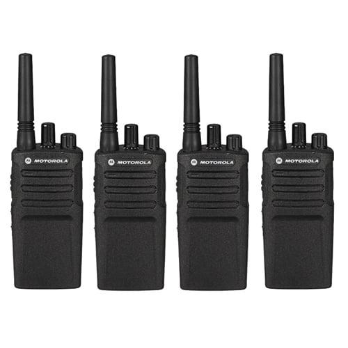 Motorola RMU2080 (4 Pack) Two Way Radio - Walkie Talkie