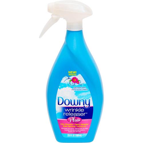 Downy Light Fresh Scent Wrinkle Releaser Plus, 33.8 fl oz