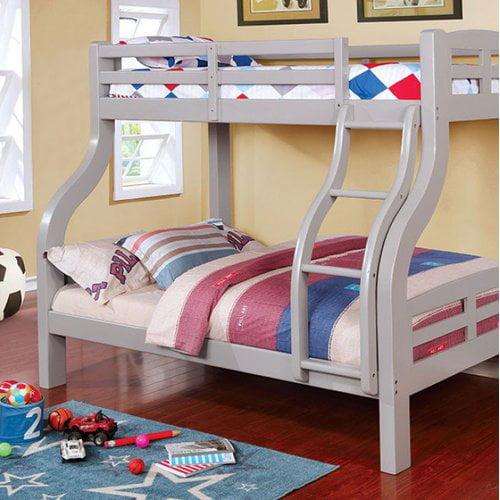 Harriet Bee Crosby Twin Over Full Bunk Bed