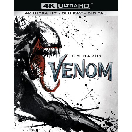 Venom (4K Ultra HD + Blu-ray + Digital Copy)