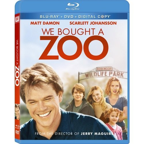 We Bought A Zoo (Blu-ray   DVD) (With INSTAWATCH) (Widescreen)