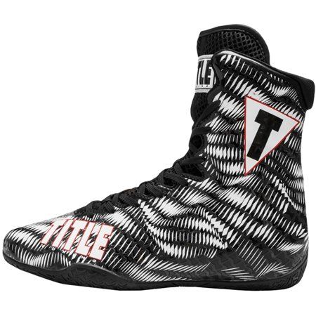 Title Boxing Predator Lightweight Mid-Length Boxing (Best Shoes For Boxing Fitness)