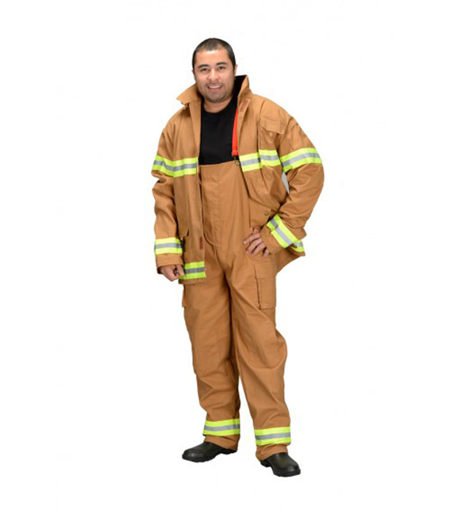 Aeromax FT-ADULT-LRG Adult Firefighter Suit Size Adult Large Tan by Aeromax Inc.