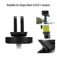 EOTVIA Universal Mini Tripod Mount Adapter with 1/4  Mounting Screw for Gopro Hero 4 3 3+ Cameras, Tripod Mount Adapter for Gopro,Tripod Adapter