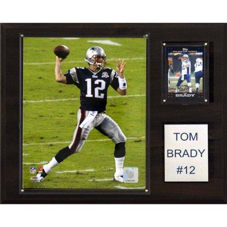 C Collectables Nfl 12X15 Tom Brady New England Patriots Player Plaque