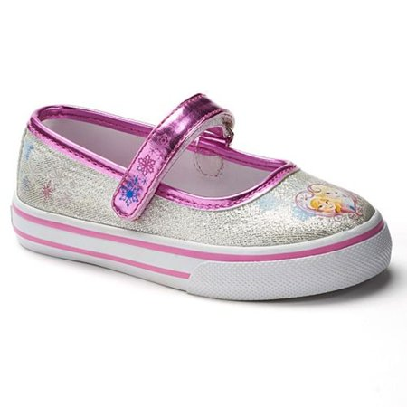 48d56e348cab Disney - Disney Frozen Elsa & Anna Girls' Cassual Shoe Mary Janes New  Without Box - Walmart.com