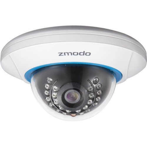 Zmodo Network Camera - Color - 50 ft - H.264 - 1280 x 7202.80 mm - Cable - Dome