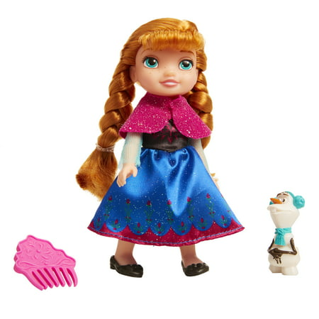 Disney Frozen Petite Anna Doll with - Disney Princesses In Frozen