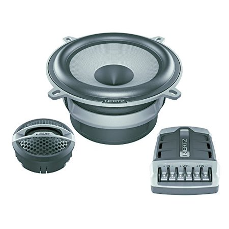 Hsk 130 Hertz 5 25  2 Way Hi Energy Component Speakers Mids Tweeters Crossovers