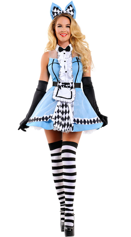 126f5697b02 Alice In Wonderland Costumes Adult & PVC Alice In Wonderland Costume ...