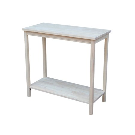 Unfinished Wood End Table (The Gray Barn Moonshine Unfinished Accent Table )