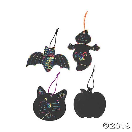 Magic Color Scratch Halloween Shapes](Silhouette Halloween Shapes)
