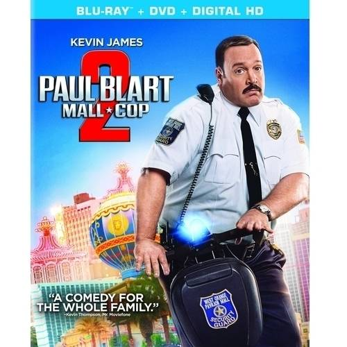 Paul Blart: Mall Cop 2 (Blu-ray + DVD + Digital HD) (With INSTAWATCH) (Widescreen)