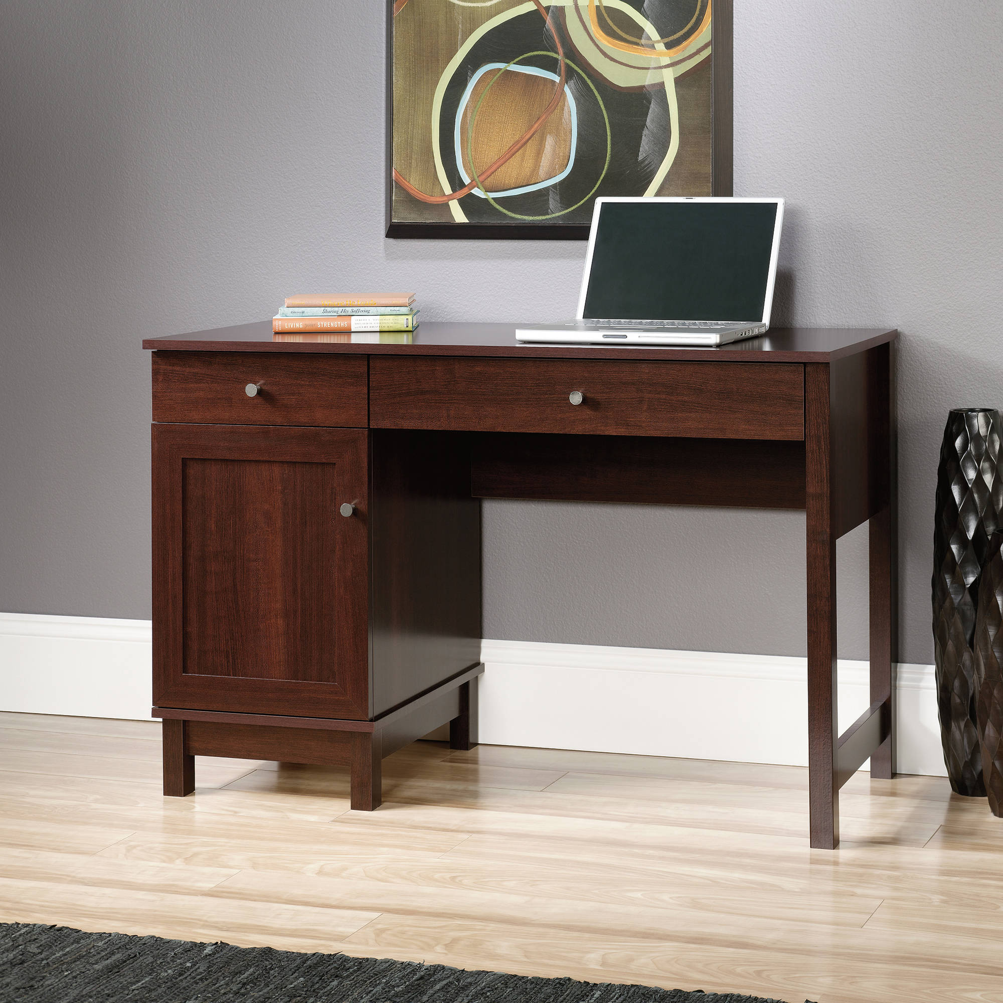 Sauder Kendall Square Desk, Cherry