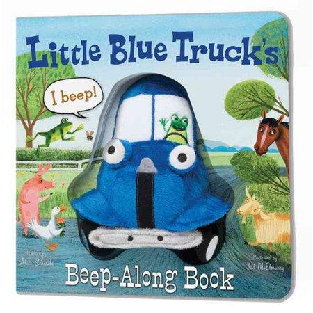 Little Blue Trucks Beep Along Book