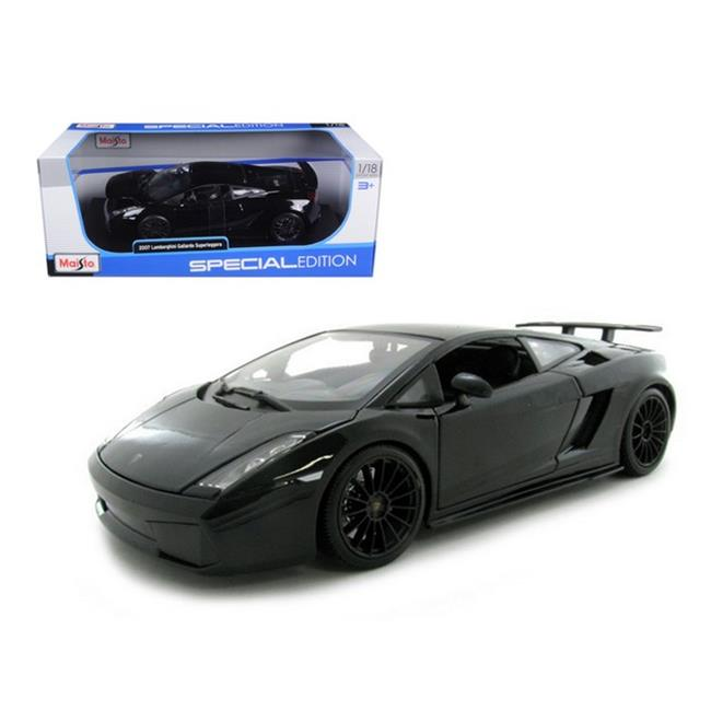Maisto 31149bk 2007 Lamborghini Gallardo Superleggera Black 1 18 Diecast  Model Car