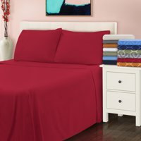 Extra Soft All Season 100% Cotton Flannel Solid Bedding Sheets & Pillowcases, 4-Piece Sheet set by Impressions - California King