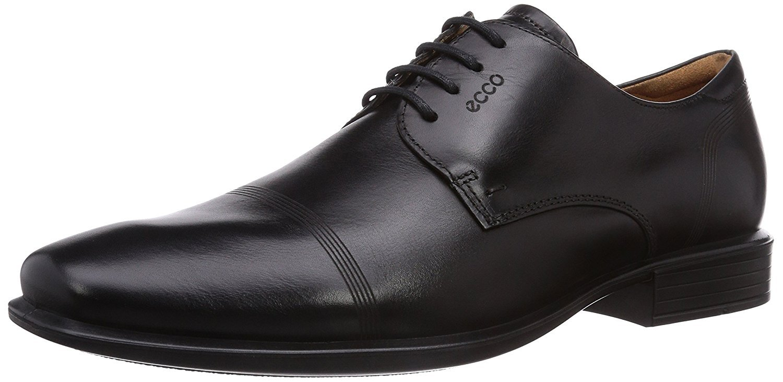 ECCO Men's Cairo Cap Toe Oxford,Black,47 EU 13-13.5 M US by Ecco