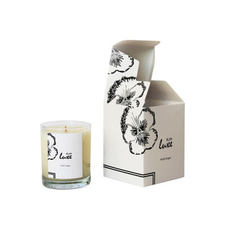 EJH Brand Luxe Wild Ginger Candle