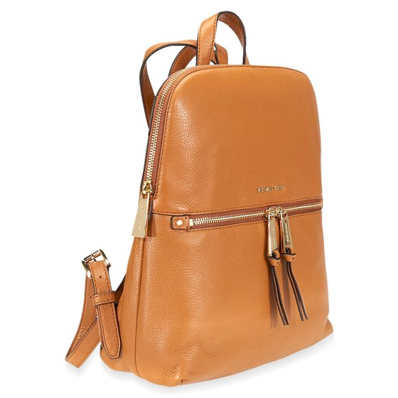 798da2973b5b2 Michael Kors - Michael Kors Rhea Medium Slim Leather Backpack- Acorn ...