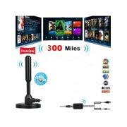 MarinaVida 300 Mile Range Antenna TV Digital HD Skywire 4K Antena Digital Indoor HDTV 1080p