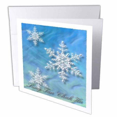 Merry Christmas In Korean.3drose Sung Tan Chuk Ha Merry Christmas In Korean Snowflake Greeting Cards 6 X 6 Inches Set Of 6