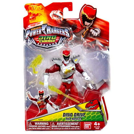 Power Rangers Dino Charge Red Ranger (Power Rangers Dino Charge Dino Drive Red Ranger Action)
