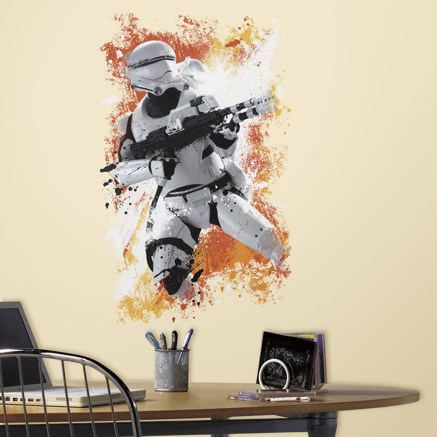 RoomMates Star Wars Episode VII Kylo Ren Peel And Stick Giant Wall Decal,  Glow In The Dark   Walmart.com