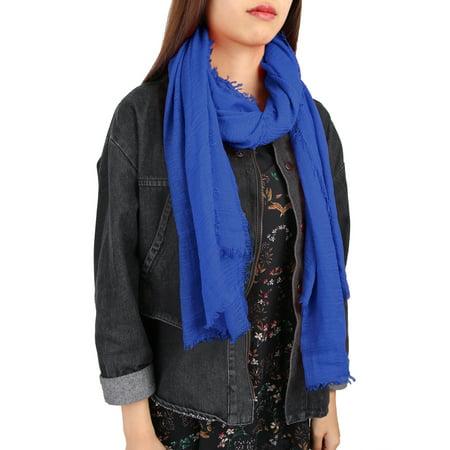 Unisex Cotton Linen Soft Fashion Long Scarf Hijab Wrap Shawl Headwear Scarf #11 ()