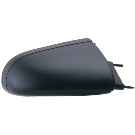 62601G - Fit System Passenger Side Mirror for 87-91 Buick LeSabre, Olds. Delta 88 Royale, Pontiac Bonneville, black, non-foldaway, (Pontiac Bonneville Side Mirror)