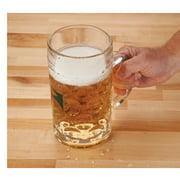 Woodcraft 1-Liter Glass Beer Mug by Woodcraft Supply
