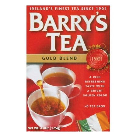 Barry's Tea from Ireland (40 Tea Bags) Gold Blend Barrys Gold Blend Tea Bags