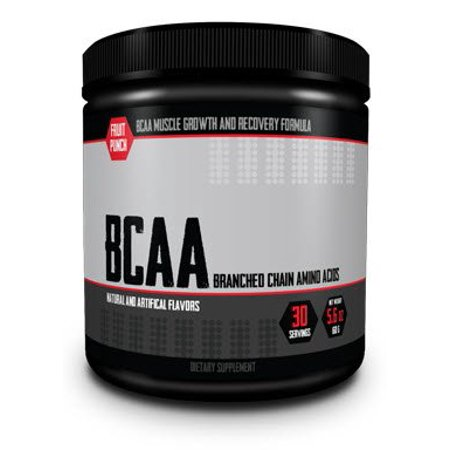 BCAA Powder - Amino Acids Workout Formula For Muscle Growth & Recovery
