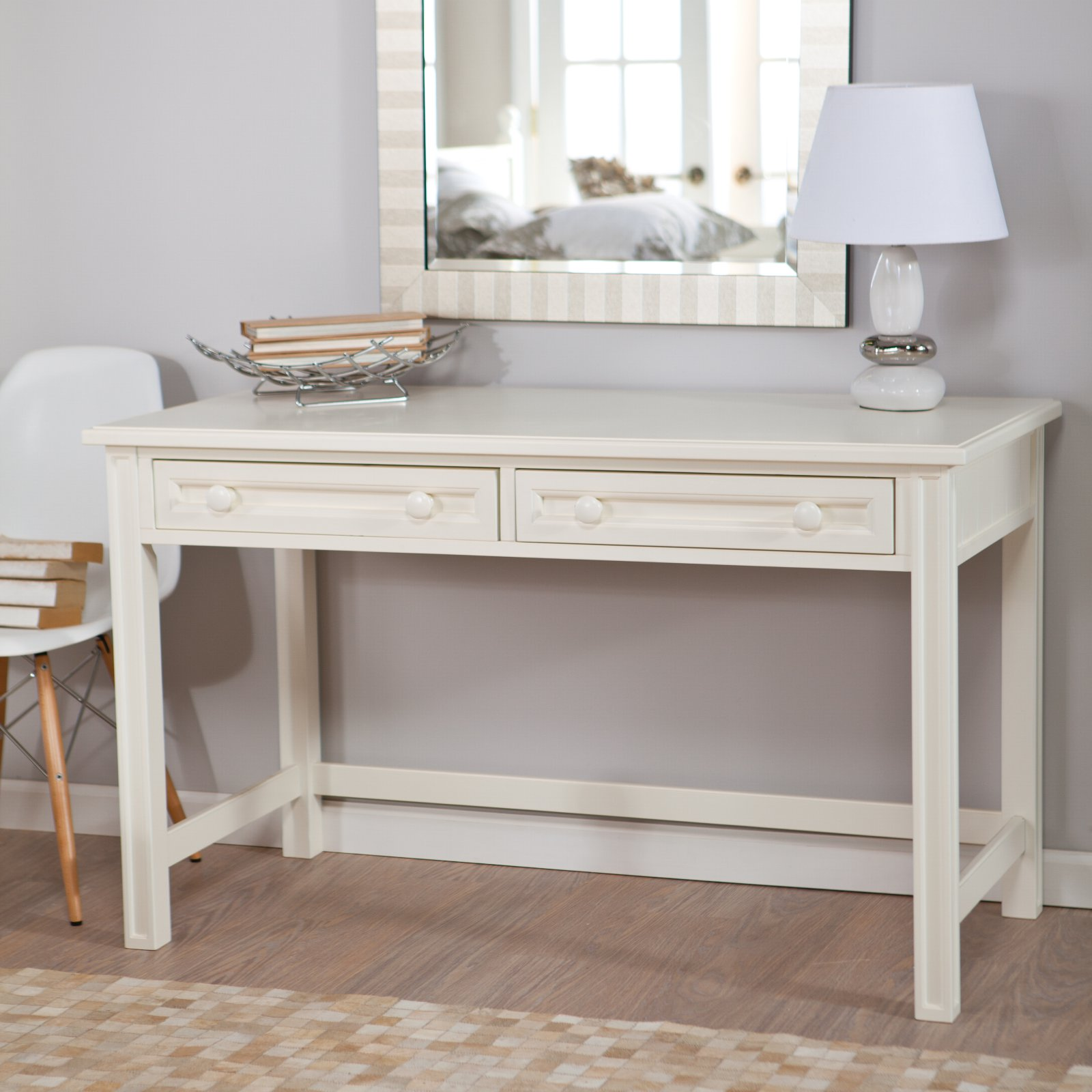 Belham Living Casey White Bedroom Vanity