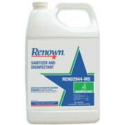 RENOWN® SANITIZER AND DISINFECTANT, 1 GALLON  per 3 Gallon
