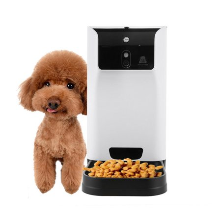 Smart Programmable Automatic Pet Food Dispenser Feeder with Voice Recorder and Timer WCYE