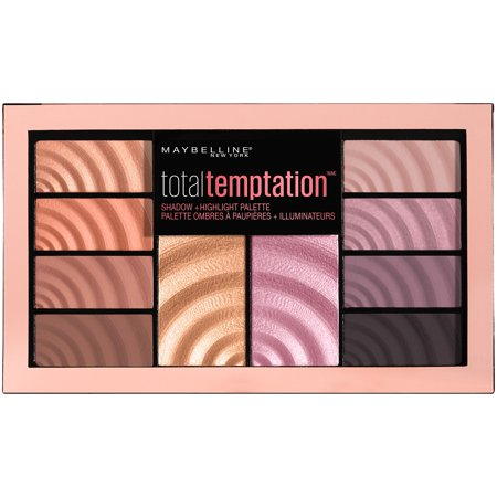 Maybelline New York Total Temptation Shadow + Highlight Palette, 0.42 oz. for $<!---->