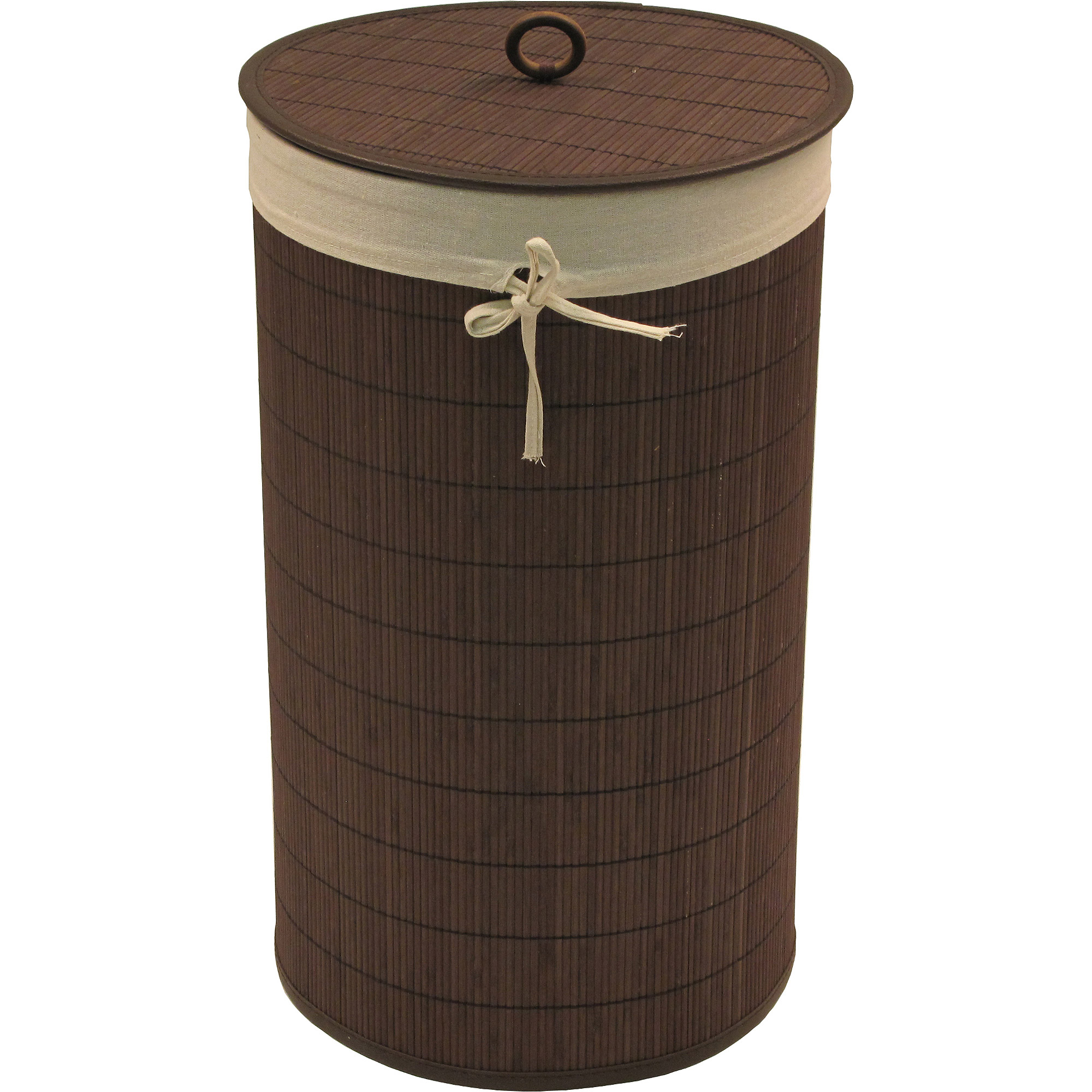 Baby Things Bamboo Hamper with Liner, Espresso by Redmon