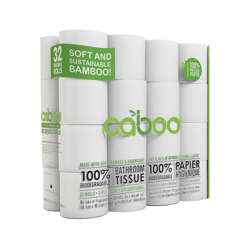 Click here to buy Caboo Toilet Paper, 32 Double Rolls by Caboo.