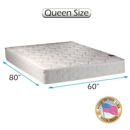 American Legacy Innerspring  Inner Spring  Queen Size  60  X80  X8   Gentle Firm   Mattress Only   Fully Assembled  Orthopedic  Good For Your Back  Superior Quality By Dream Solutions Usa